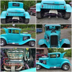 1930 Ford Street Rod Coupe $29,900