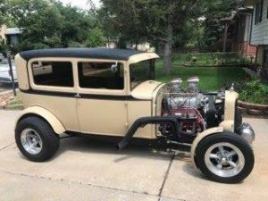 1930 Ford Model A Sedan HotRod $32,900 negotiable
