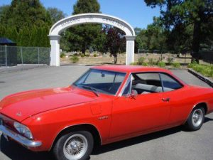 1965 Chevrolet Corvair Corsa Turbo $19,900
