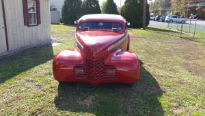40′ Chevy Deluxe Coupe Chopped Street Rod $24,900