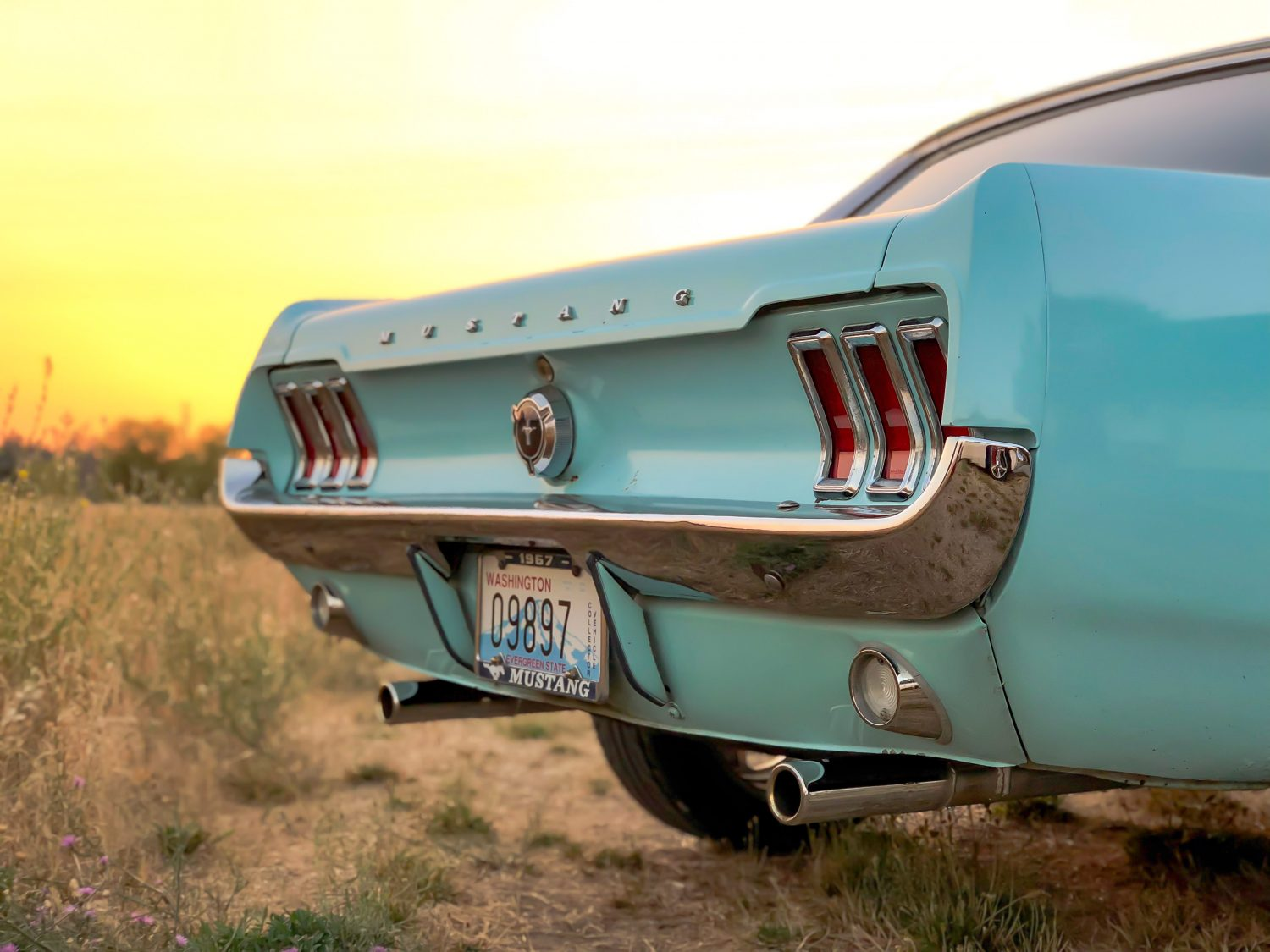1967 Mustang Rear End