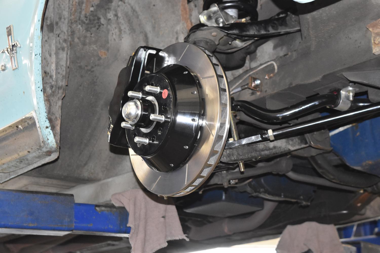 1967 mustang disc brake rotor