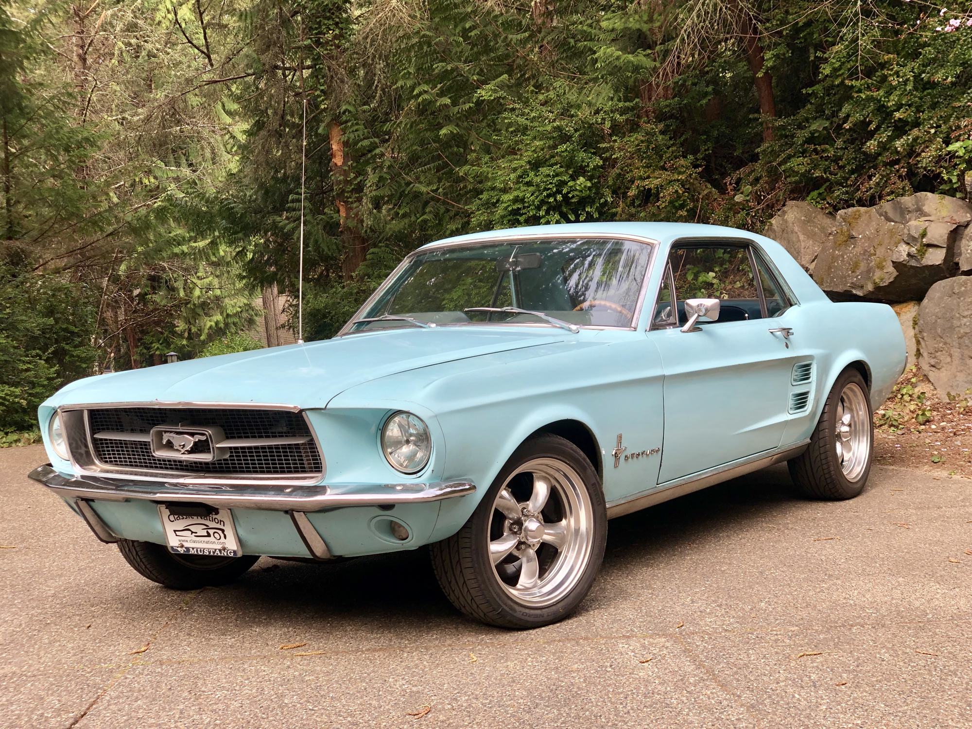 frost turquoise mustang