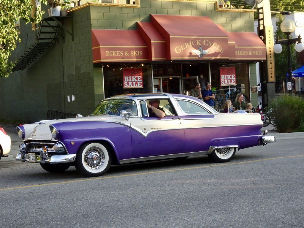 classic car - queen city car cruise