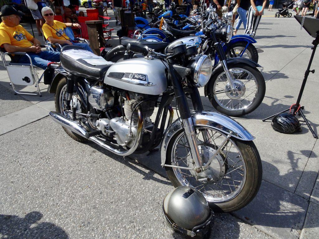 Classic Norton Motorcycle