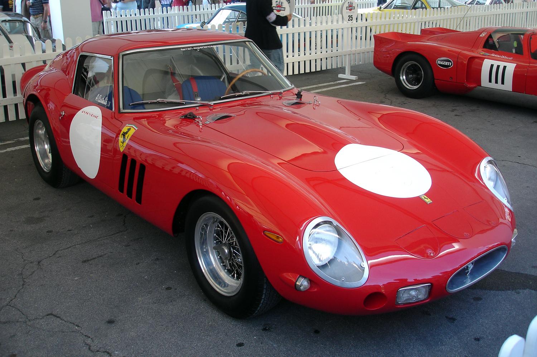 classic Ferrari 250 GTO