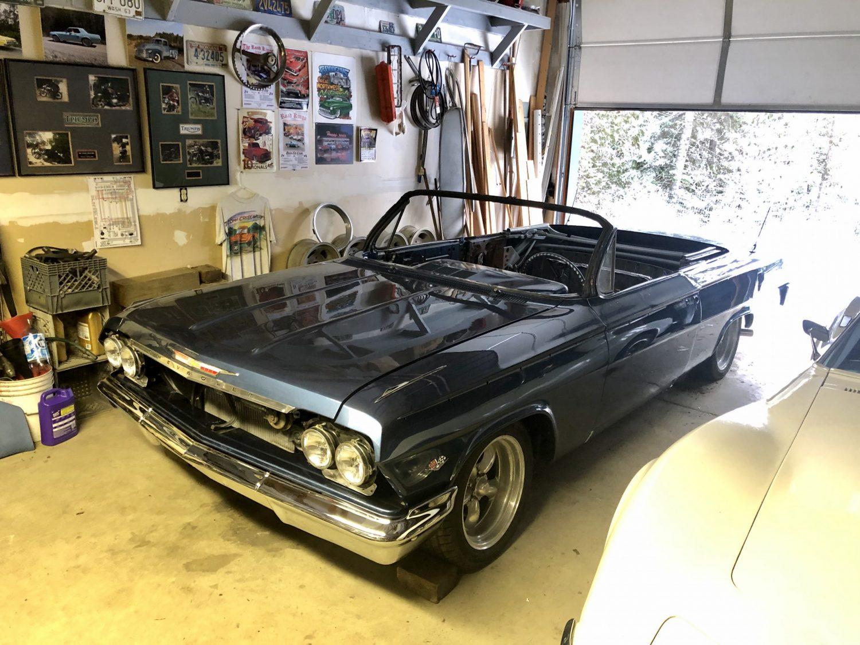painted 1962 impala