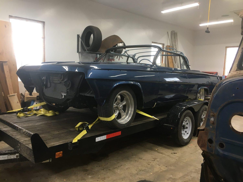 blue 62 Impala SS