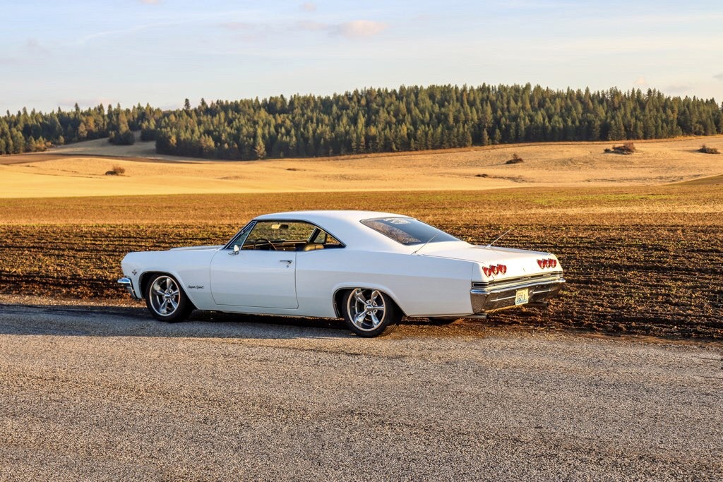white 1965 impala