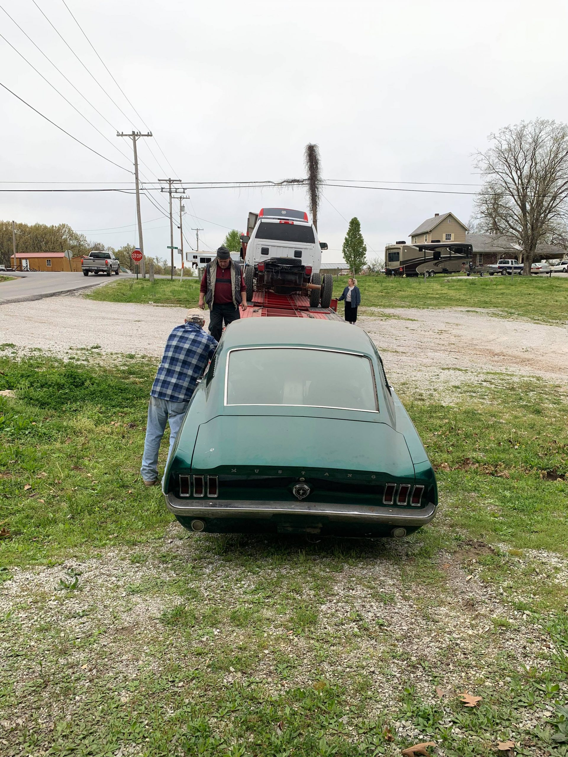 1967 mustang barn find