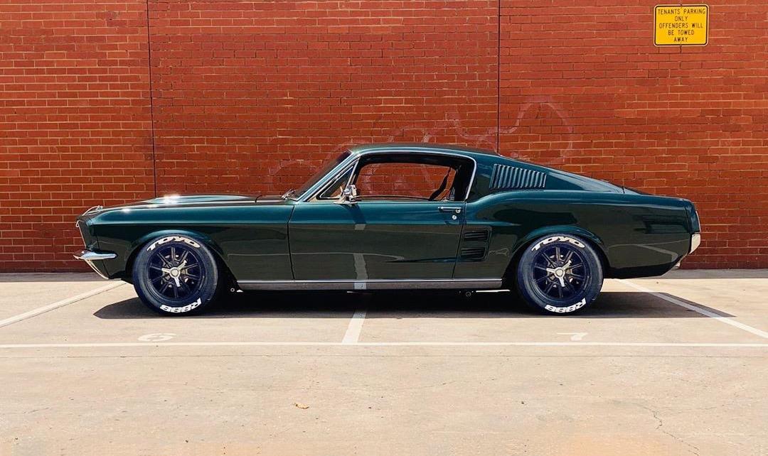 Evans Mustang Render