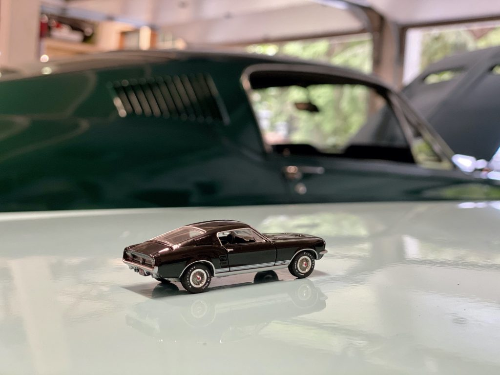 Toy mustang Fastback