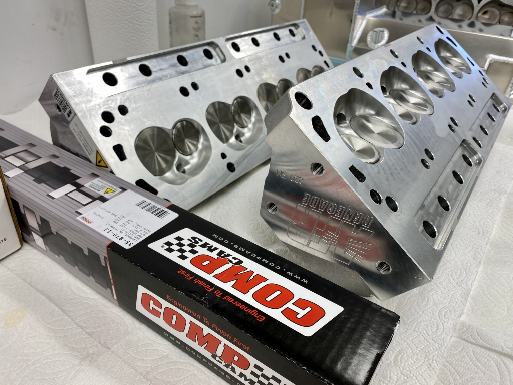 All Aluminum Fuel Injected 427 Stroker (Windsor) Parts Are Arriving!