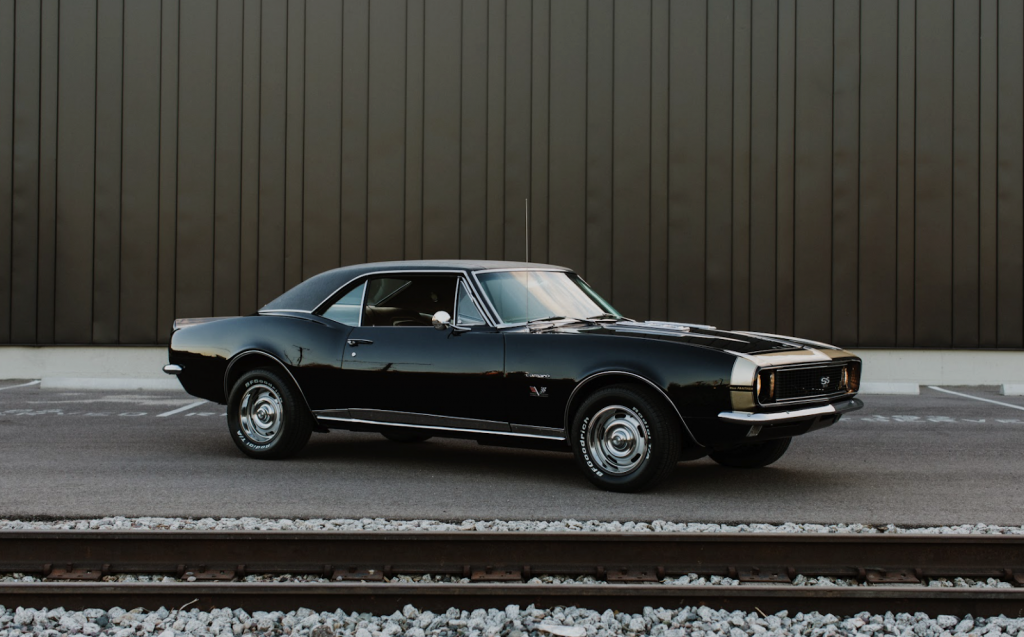 1967 Chevrolet Camaro SS/RS 'Black Panther' Tribute Is A Muscle Car Built For A Spy