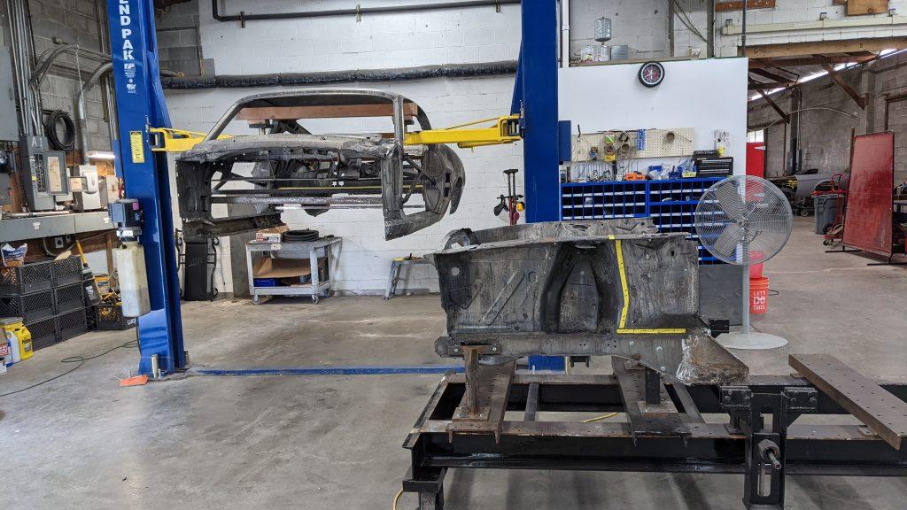 Metal Fabrication and New Full Floor Pan Preparation